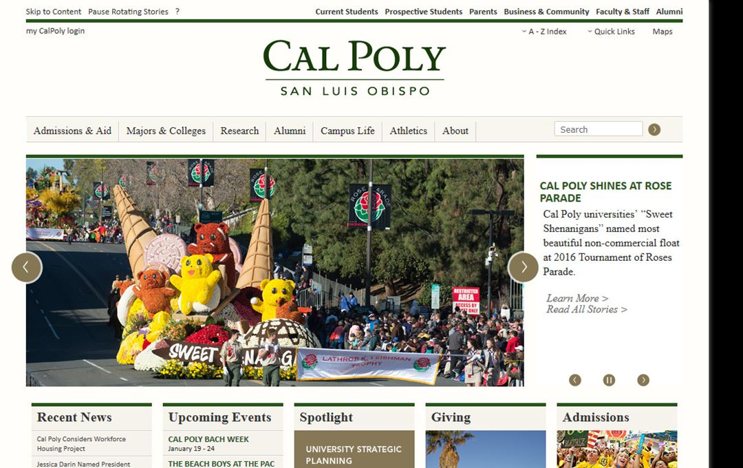 cal poly admissions essay How to apply to the curriculum & instruction program application essay: faculty will make recommendations to the cal poly office of admissions.